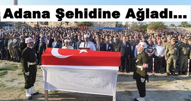 Adana Şehidine Ağladı...