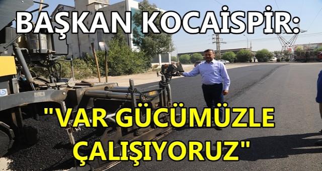 YÜREĞİR'DE YOL SEFERBERLİĞİ