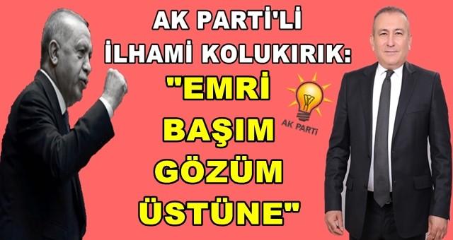 Ak Parti'de sıcak saatler yaşanıyor: Ceyhan İlçe Başkanı İlhami Kolukırık sesleri yükseldi