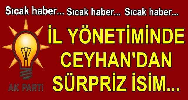 Ak Parti Adana İl Yönetimi Belirleniyor…