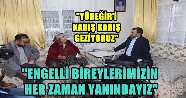 BAŞKAN KOCAİSPİR'DEN TEKERLEKLİ SANDALYE