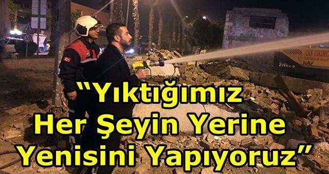 Başkan Aydar'ın gece mesaisi
