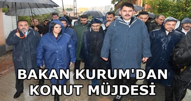Bakan Kurum Adana'daki tahribatı açıkladı...