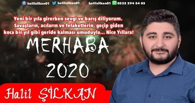 CHP'li Halil Şilkan'dan yeni yıl mesajı
