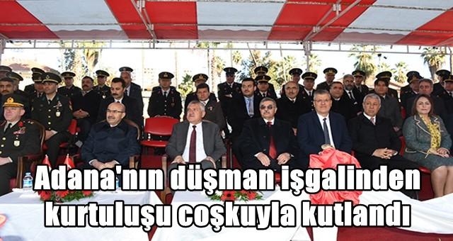 Adana'nın düşman işgalinden kurtuluşu coşkuyla kutlandı