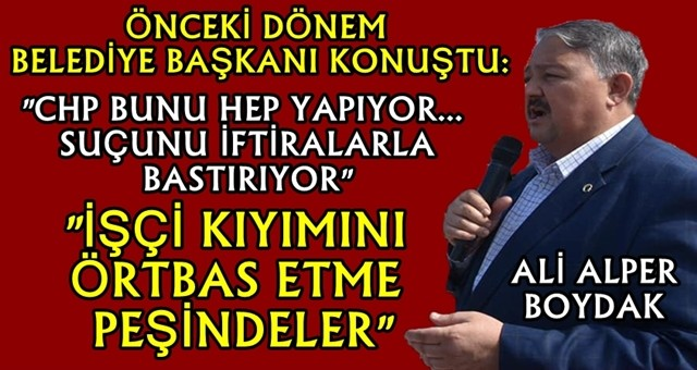 """""""Ceyhan Belediyesi suçunu bastırıyor"""""""