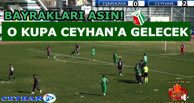 Ceyhanspor şampiyonluğa bir adım daha yaklaştı