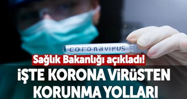 Virüs nasıl bulaşır, korunmanın yolları nelerdir? İşte yanıtı