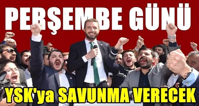 Kadir Aydar, Perşembe Günü YSK'ya Savunma Verecek!