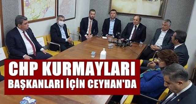 CHP kurmayları Kadir Aydar için Ceyhan'da!