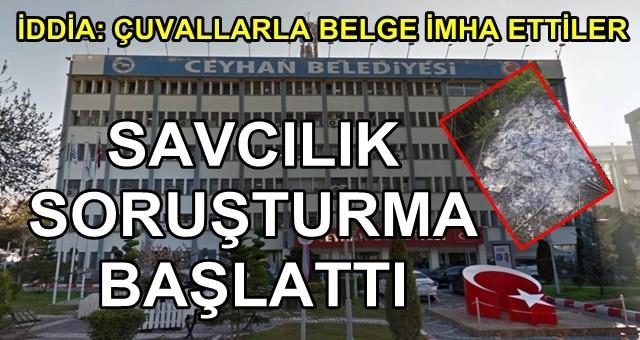 Ceyhan Belediyesi'nde bir skandal daha!