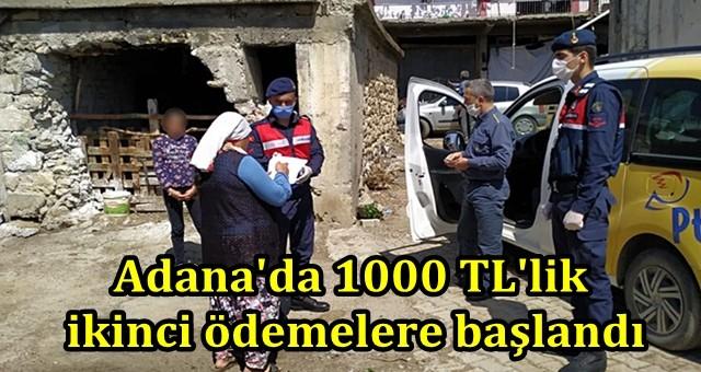 Adana'da 1000 TL'lik ikinci ödemelere başlandı