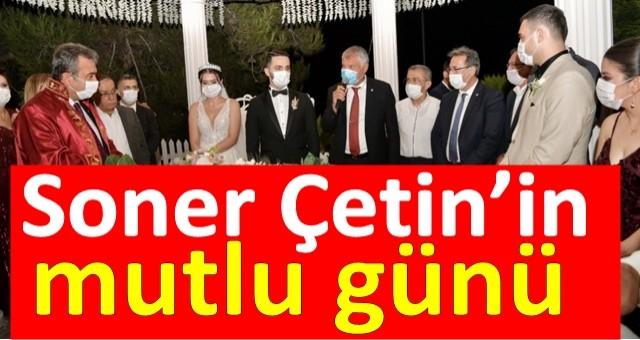 Çukurova Belediye Başkanı Soner Çetin kızı Melike'nin nikahını kıydı