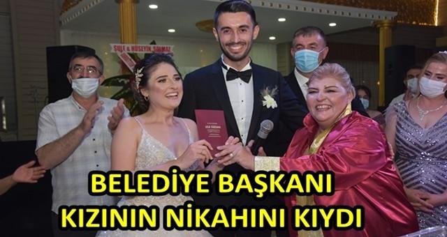 Ceyhan Belediye Başkanı Erdem, kızının nikahını kıydı