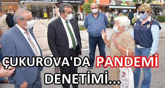 Çukurova Kaymakamı Mustafa Kaya ve Çukurova Belediye Başkanı Soner Çetin vatandaşı uyardı