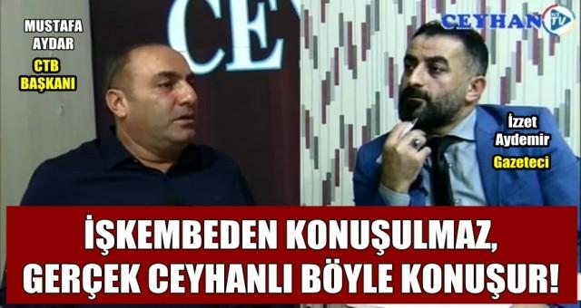 Mustafa Aydar'ın söylediği nakarat oldu!