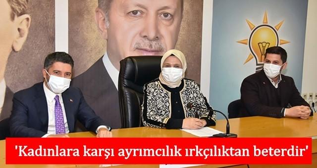AK Parti'li kadınlar şiddete karşı tek ses oldu