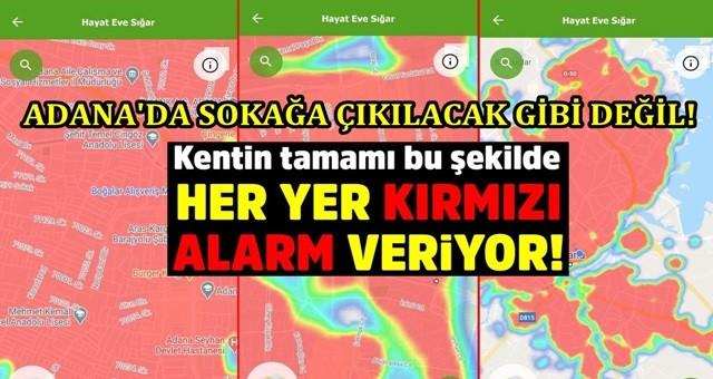 İşte Adana'nın korona haritasındaki en risksiz bölgesi