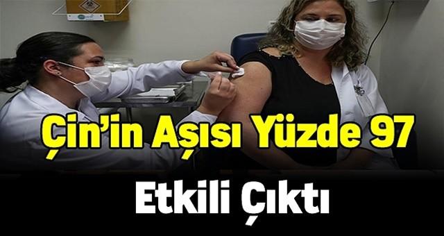 Türkiye'de de kullanılacak Çin aşısı Sinovac yüzde 97 etkili çıktı