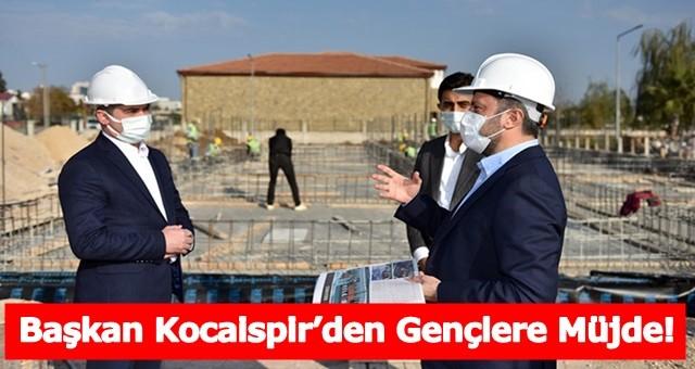 Başkan Kocaispir'den Gençlere Müjde!