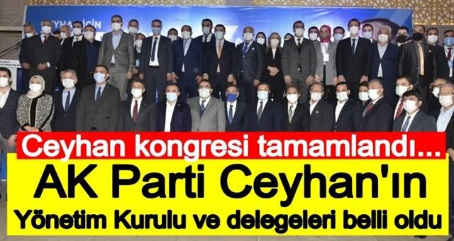 AK Parti Yüreğir ve Ceyhan'da Kongre Heyecanı