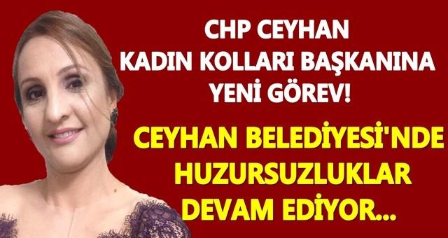 CHP'nin Ceyhan Kadın Kolları Başkanına yeni görev