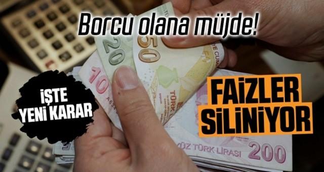 Devlet bankası gecikme faizlerini sildi! Anapara borçlarına 18 ay taksit yapacak