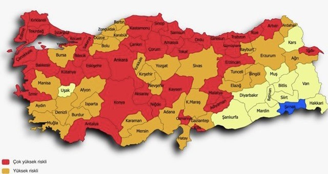Adana Turuncu, Yüksek Riskli