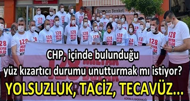 Yolsuzluk, taciz ve tecavüzle anılan CHP'den iftira kampanyası!