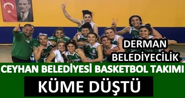 Ceyhan Belediyesi Basketbol Kulübünden Hüsran!