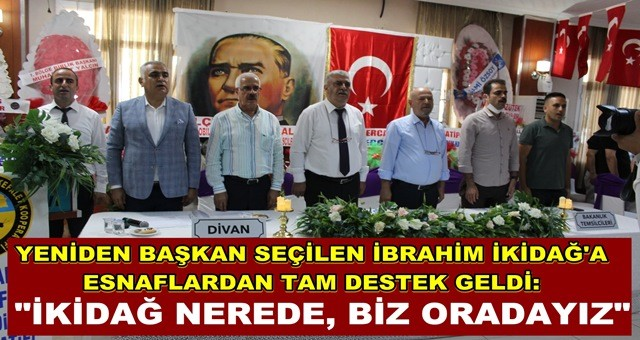 İbrahim İkidağ yeniden başkan seçildi