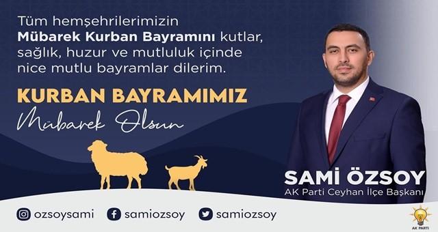Başkan Özsoy Kurban Bayramı mesajı yayımladı