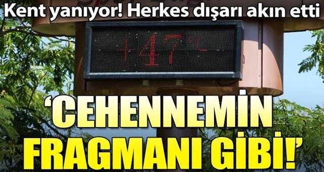 Termometreler 47 dereceyi gösterdi