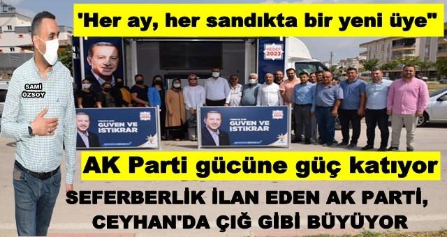 Büyük AK Parti ailesine yeni üyeler katılmaya devam ediyor