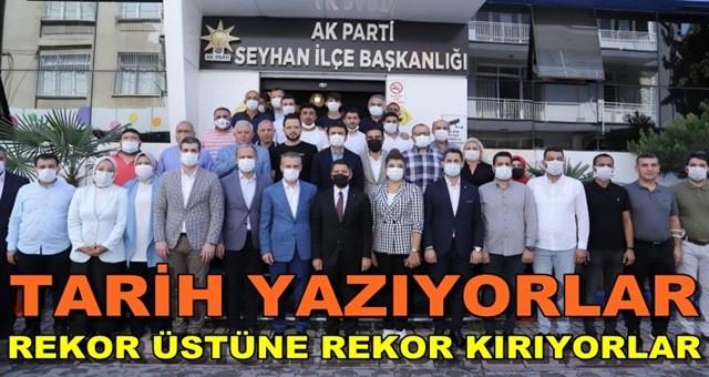 Adana, AK Parti oldu! İl Başkanı Mehmet Ay, rekor üstüne rekor kırıyor!