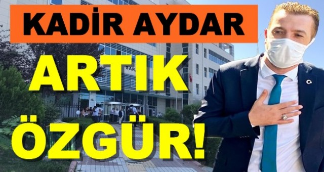 Kadir Aydar'ın ev hapsi kaldırıldı