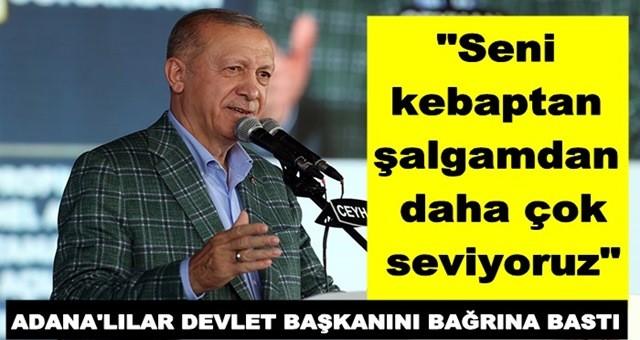 Cumhurbaşkanı Erdoğan, Ceyhan'da temel atma ve toplu açılış törenine katıldı
