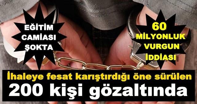 Adana'da Dev Operasyon, Eğitim Camiası Şokta!