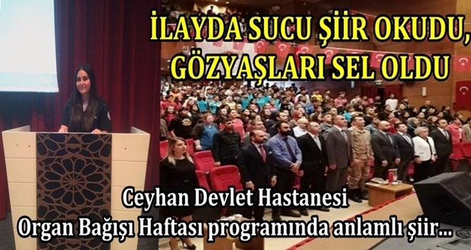 Ceyhan Devlet Hastanesi Organ Bağışı Haftası nedeni ile program düzenlendi