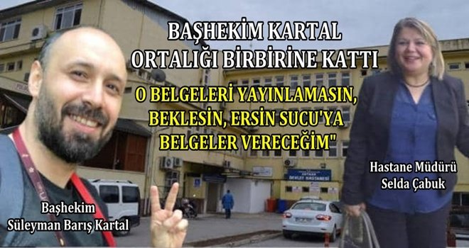 Ceyhan Devlet Hastanesi'nde yaşanan skandallar dudak uçuklattı.
