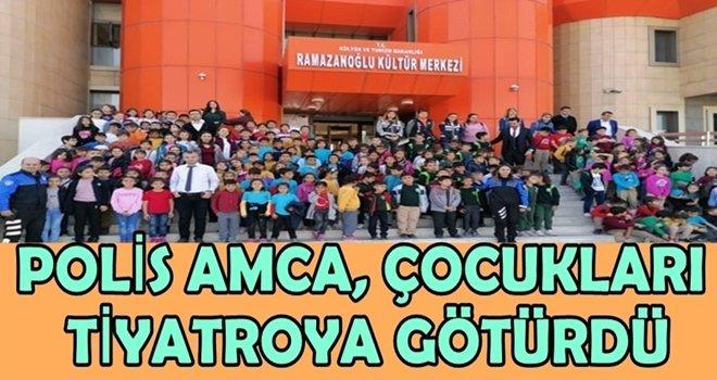 Ceyhan polisi çocukları tiyatroyla buluşturdu