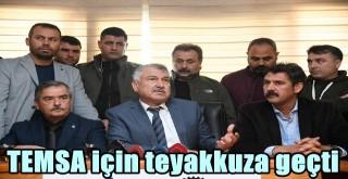 Başkan Zeydan Karalar TEMSA için teyakkuza geçti