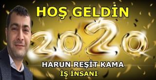 İş insanı Harun Reşit Kama'dan yeni yıl mesajı