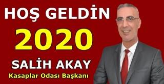 Ceyhan Kasaplar Odası Başkanı Salih Akay'dan yeni yıl mesajı