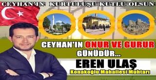 Muhtar Eren Ulaş'tan Kurtuluş Bayramı mesajı