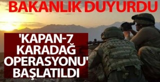Şırnak ve Siirt'te Kapan 7 operasyonu başladı