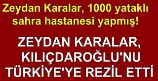 Zeydan, Kılıçdaroğlu'nu rezil etti