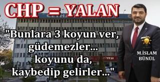AK Parti Ceyhan İlçe Başkanı Muhammed İslam Bünül'den zehir zemberek açıklama!