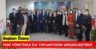 AK Parti  Ceyhan İlçe Başkanı Sami Özsoy, yeni yönetimle ilk toplantısını gerçekleştirdi