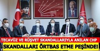 CHP Kurmayları, skandalları örtbas etme peşinde!